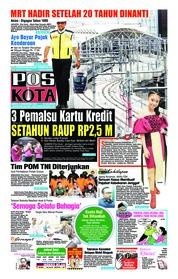 Cover Pos Kota 15 Desember 2018