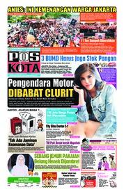 Cover Pos Kota 16 Desember 2018