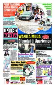 Cover Pos Kota 19 Desember 2018