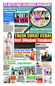 Cover Pos Kota 08 Januari 2019