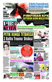 Cover Pos Kota 10 Januari 2019