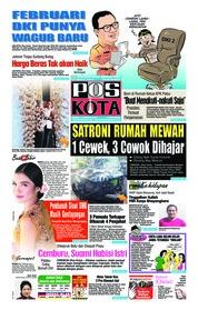 Cover Pos Kota 11 Januari 2019