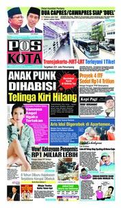 Cover Pos Kota 17 Januari 2019