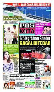 Cover Pos Kota 19 Januari 2019