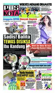 Cover Pos Kota 20 Januari 2019