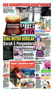 Cover Pos Kota 22 Januari 2019