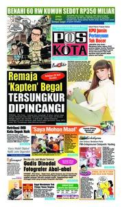 Cover Pos Kota 09 Februari 2019