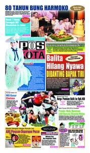 Cover Pos Kota 10 Februari 2019