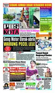 Cover Pos Kota 13 Februari 2019