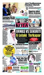 Cover Pos Kota 14 Februari 2019