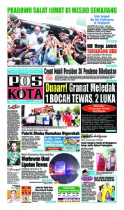 Cover Pos Kota 15 Februari 2019