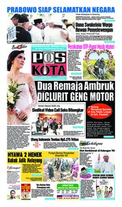 Pos Kota Cover 16 February 2019