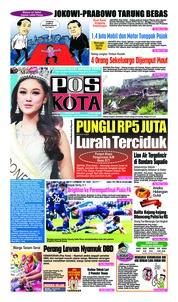 Cover Pos Kota 17 Februari 2019