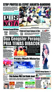 Cover Pos Kota 19 Februari 2019