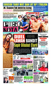 Pos Kota Cover 20 February 2019