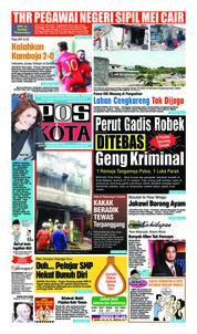 Pos Kota Cover 23 February 2019