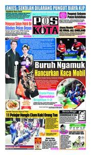 Cover Pos Kota 10 Maret 2019