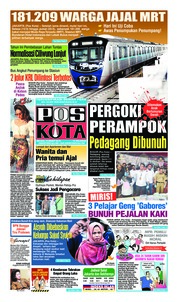 Pos Kota Cover 12 March 2019