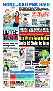 Pos Kota Cover 14 March 2019