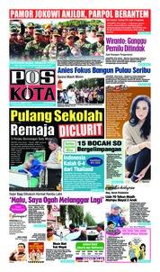 Cover Pos Kota 23 Maret 2019