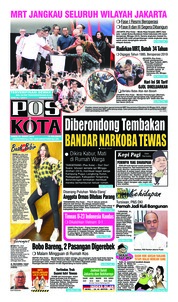 Pos Kota Cover 25 March 2019