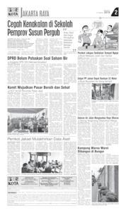 Cover Pos Kota 31 Maret 2019