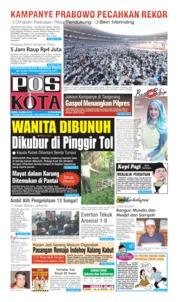 Pos Kota Cover 08 April 2019
