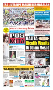 Cover Pos Kota 11 April 2019