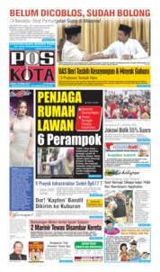 Cover Pos Kota 12 April 2019