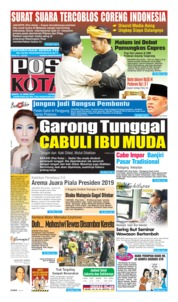 Pos Kota Cover 13 April 2019