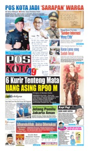 Pos Kota Cover 15 April 2019