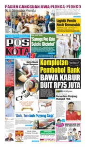 Pos Kota Cover 16 April 2019