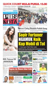 Pos Kota Cover 17 April 2019