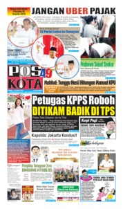 Pos Kota Cover 18 April 2019