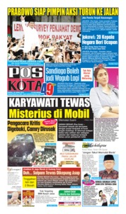 Cover Pos Kota 20 April 2019