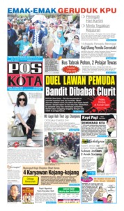 Pos Kota Cover 22 April 2019