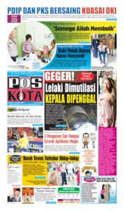 Pos Kota Cover 23 April 2019