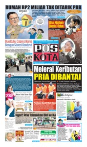 Pos Kota Cover 24 April 2019