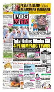 Cover Pos Kota 12 Mei 2019