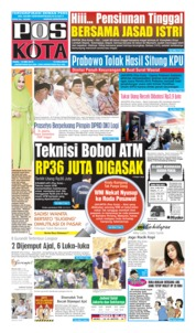 Pos Kota Cover 15 May 2019