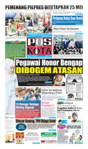 Pos Kota Cover 17 May 2019