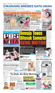 Pos Kota Cover 20 May 2019
