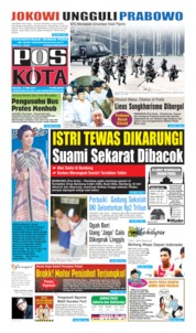 Pos Kota Cover 21 May 2019
