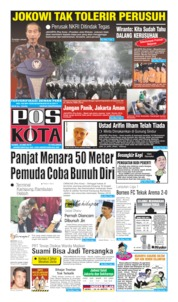 Pos Kota Cover 23 May 2019