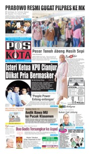 Pos Kota Cover 25 May 2019