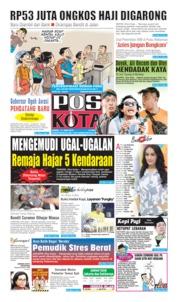 Pos Kota Cover 13 June 2019