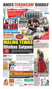 Pos Kota Cover 15 June 2019
