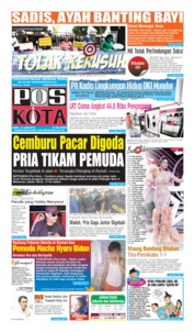 Cover Pos Kota 19 Juni 2019