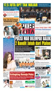 Pos Kota Cover 20 June 2019