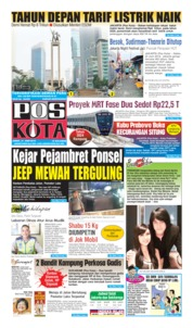 Cover Pos Kota 21 Juni 2019